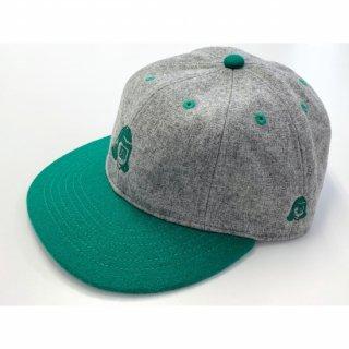 TACOMA FUJI (タコマフジ) / TACOMA FUJI LOGO 2TONE CAP / グリーン / 帽子 / キャップ / アート / 雑貨