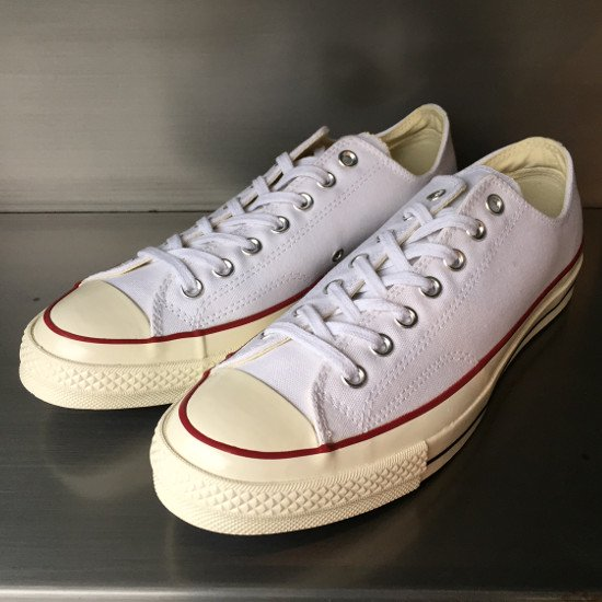 Converse USA First String 1970s Chuck Taylor Canvas Low 【WHITE】