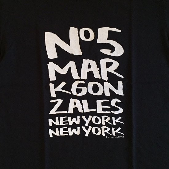 <img class='new_mark_img1' src='https://img.shop-pro.jp/img/new/icons24.gif' style='border:none;display:inline;margin:0px;padding:0px;width:auto;' />【SALE / 30%OFF】Mark Gonzales マークゴンザレス / イラスト Tシャツ 【BLACK】