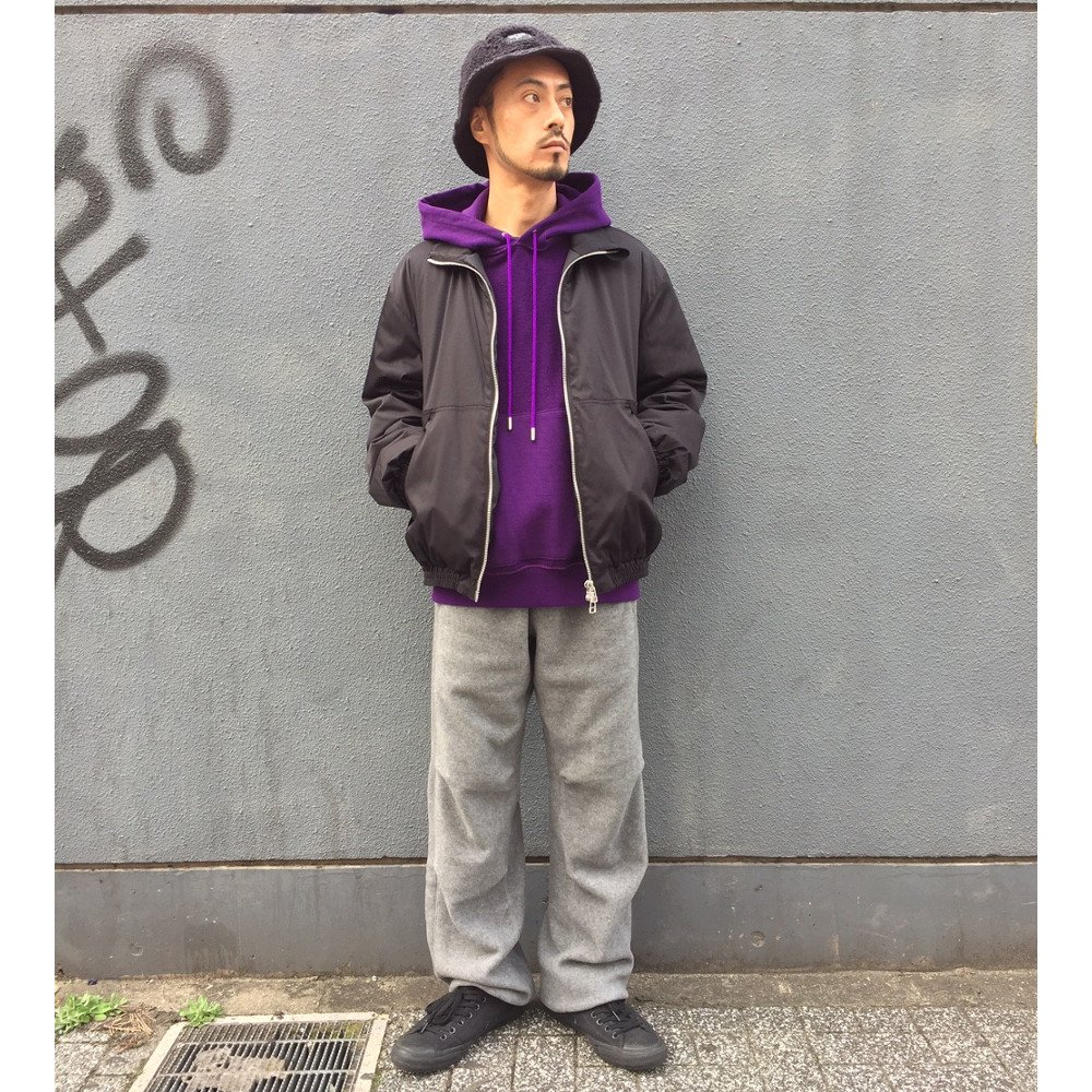 <img class='new_mark_img1' src='https://img.shop-pro.jp/img/new/icons24.gif' style='border:none;display:inline;margin:0px;padding:0px;width:auto;' />【SALE / 40%OFF】Name.  ネーム / スウェット INSIDE OUT HOODED SWEATER 【PURPLE】