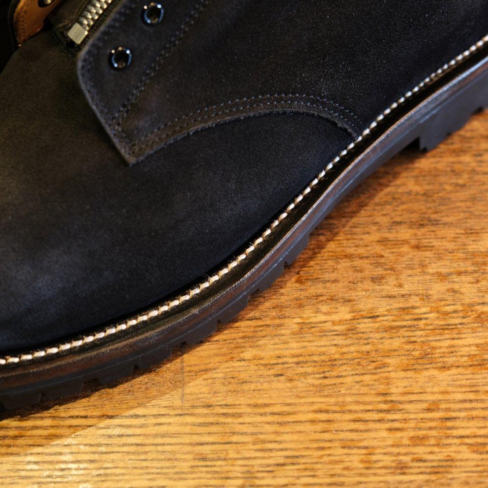<img class='new_mark_img1' src='https://img.shop-pro.jp/img/new/icons3.gif' style='border:none;display:inline;margin:0px;padding:0px;width:auto;' />Black weirdos  ブラック ウィドー / ブーツ  ZIP Plain-Toe Shoes
