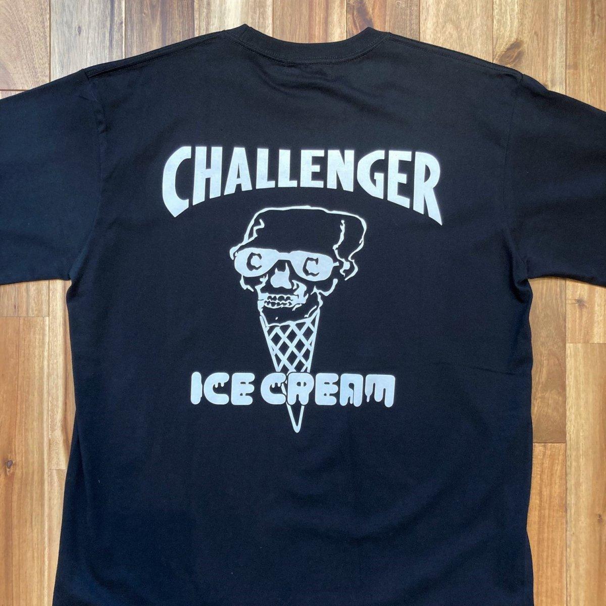 <img class='new_mark_img1' src='https://img.shop-pro.jp/img/new/icons3.gif' style='border:none;display:inline;margin:0px;padding:0px;width:auto;' />ICE CREAM アイスクリーム / Tシャツ × CHALLENGER SKULL T-SHIRT 【BLACK】