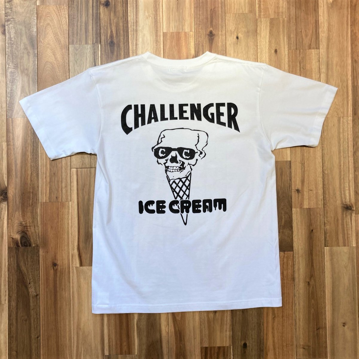 <img class='new_mark_img1' src='https://img.shop-pro.jp/img/new/icons3.gif' style='border:none;display:inline;margin:0px;padding:0px;width:auto;' />ICE CREAM アイスクリーム / Tシャツ × CHALLENGER SKULL T-SHIRT 【WHITE】