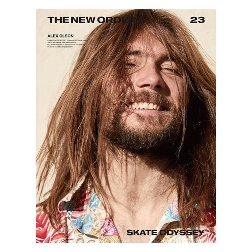 <img class='new_mark_img1' src='https://img.shop-pro.jp/img/new/icons3.gif' style='border:none;display:inline;margin:0px;padding:0px;width:auto;' />THE NEW ORDER MAGAZINE  ザ ニューオーダーマガジン Vol. 23 / ALEX OLSON