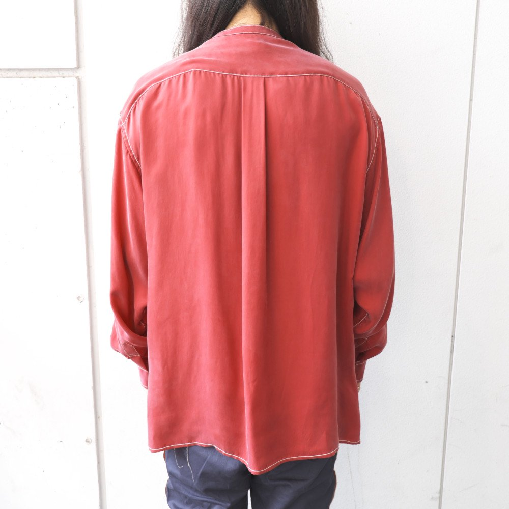 <img class='new_mark_img1' src='https://img.shop-pro.jp/img/new/icons3.gif' style='border:none;display:inline;margin:0px;padding:0px;width:auto;' />Black weirdos  ブラック ウィドー / シャツ Modern China Shirt