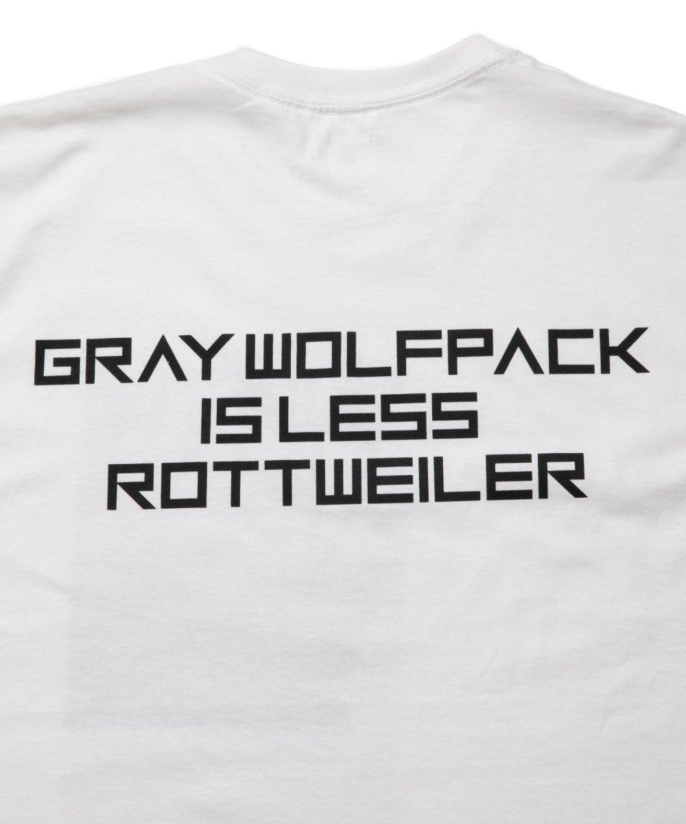 【4月下旬入荷予定】 ROTTWEILER ロットワイラー / Tシャツ 2PHOTO. S/S TEE  【WHITE】