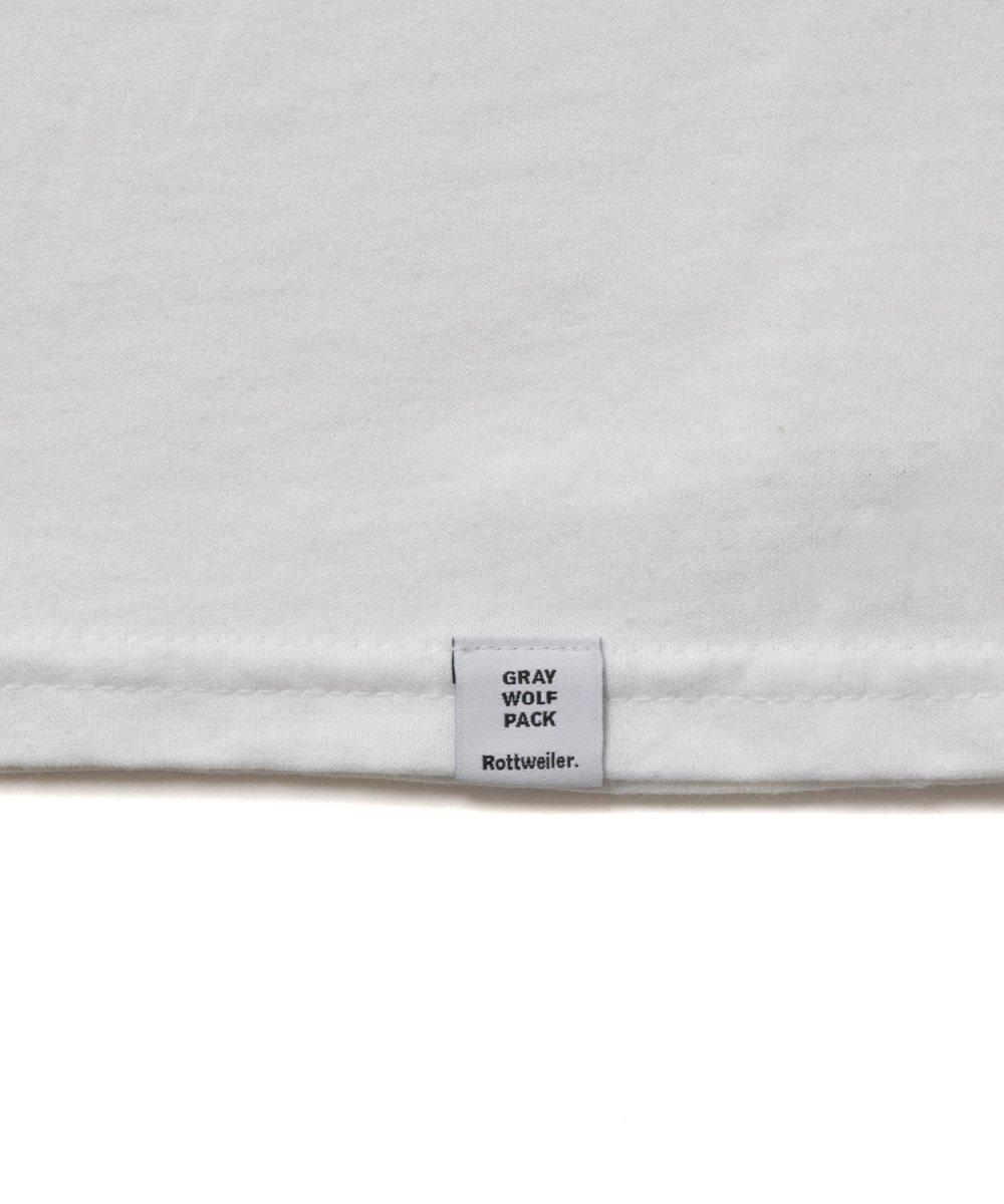 【4月下旬入荷予定】 ROTTWEILER ロットワイラー / Tシャツ PHOTO. S/S TEE  【WHITE】