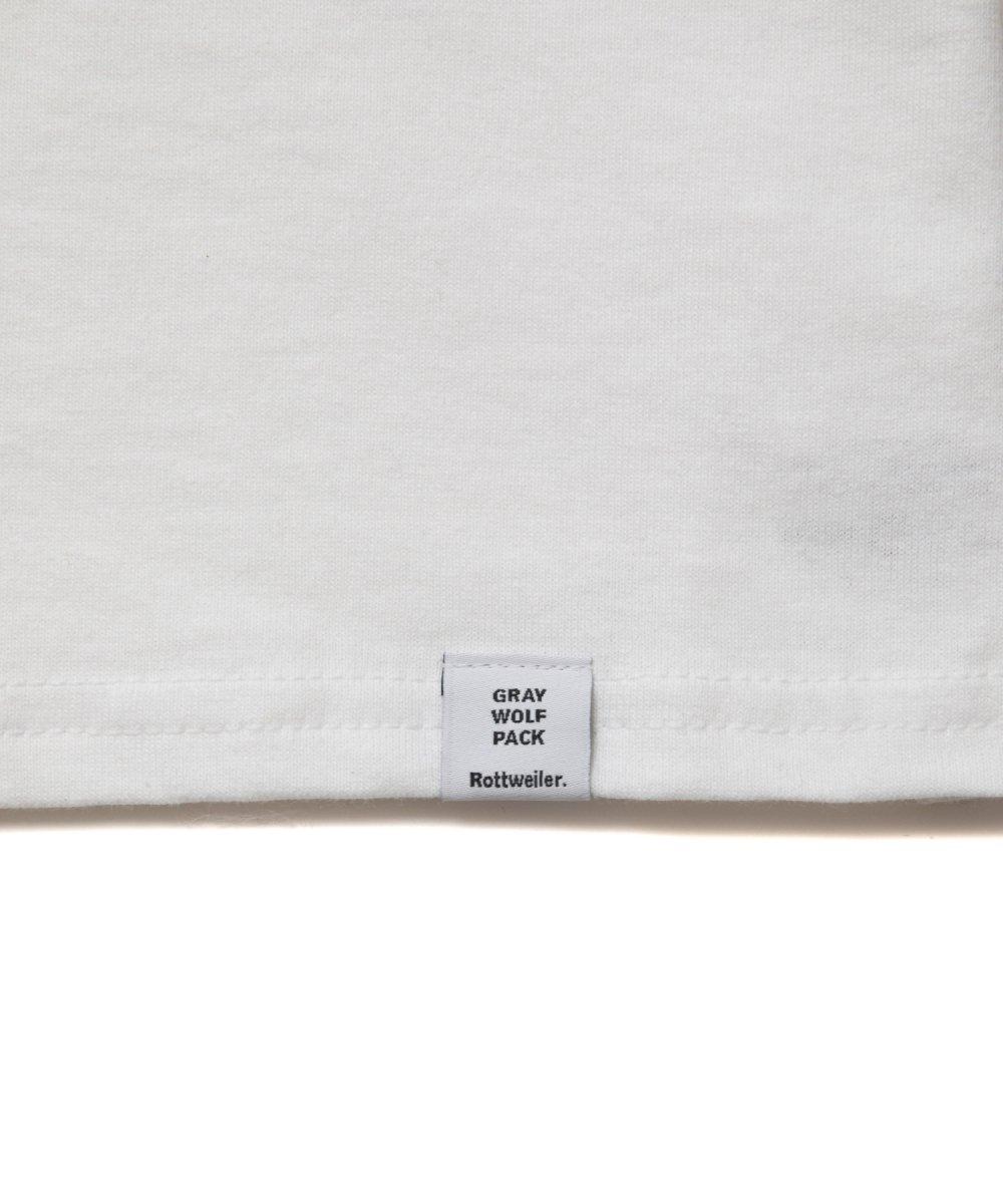 【4月下旬入荷予定】 ROTTWEILER ロットワイラー / Tシャツ PHOTO. L/S TEE  【WHITE】