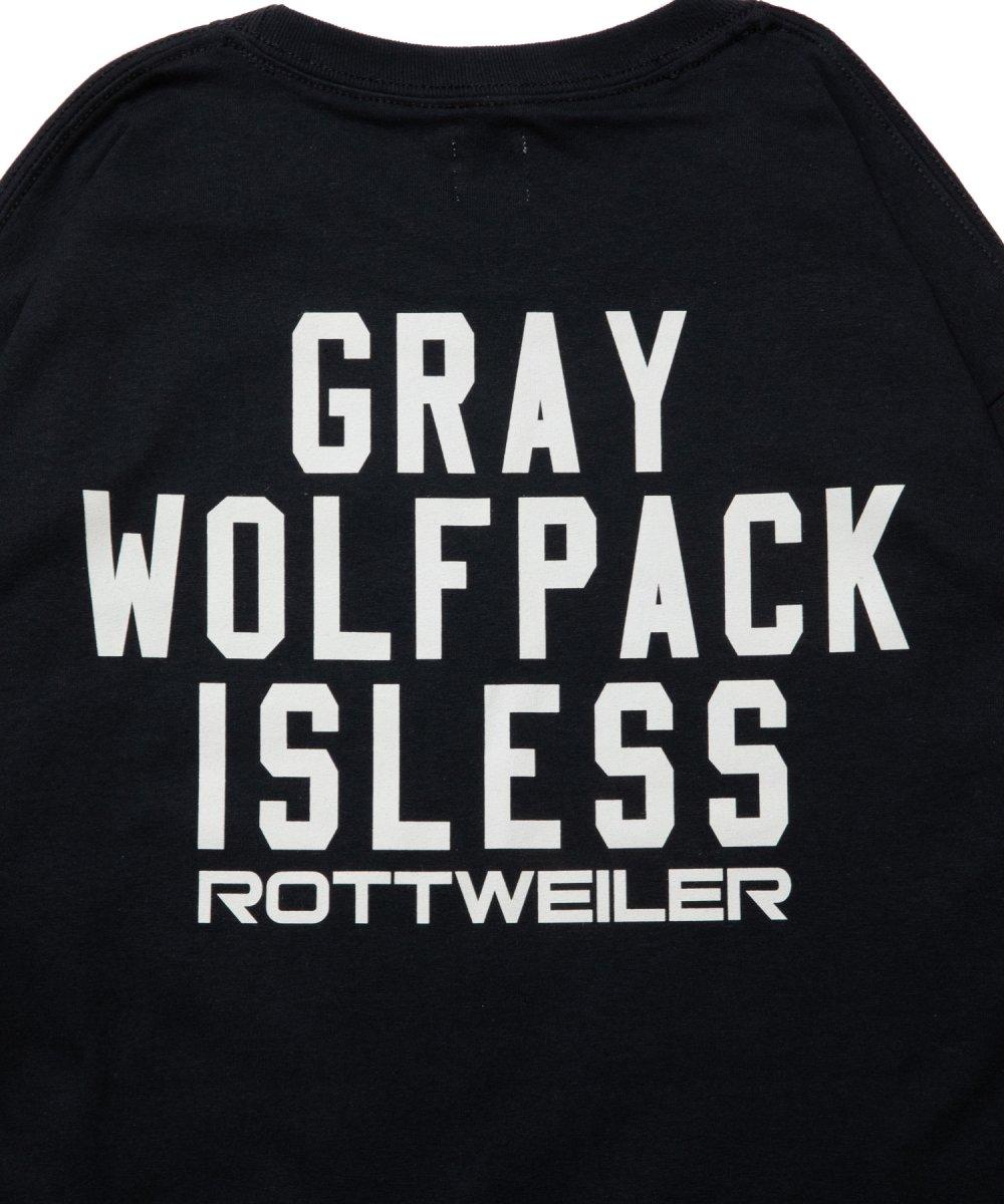 【4月下旬入荷予定】 ROTTWEILER ロットワイラー / Tシャツ CLASSIC.LO.L/S TEE  【BLACK】