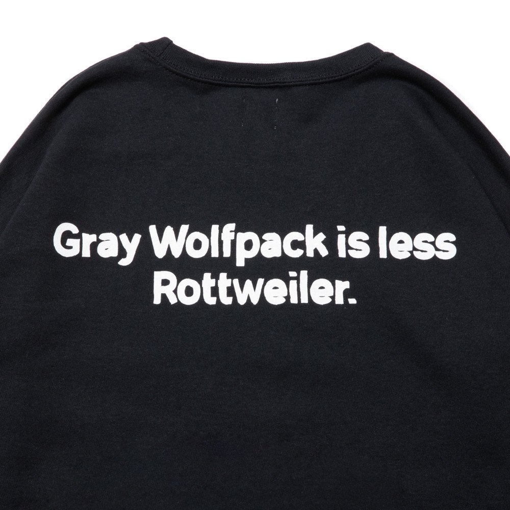 <img class='new_mark_img1' src='https://img.shop-pro.jp/img/new/icons24.gif' style='border:none;display:inline;margin:0px;padding:0px;width:auto;' />【SALE / 30%OFF】ROTTWEILER ロットワイラー / スウェット ROSE SWEATER 【BLACK】
