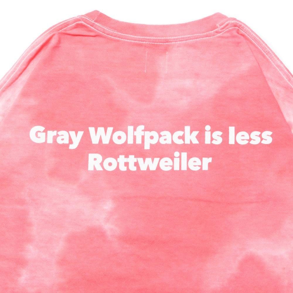 ROTTWEILER ロットワイラー / Tシャツ TIEDYE W.P LS TEE 【RED】