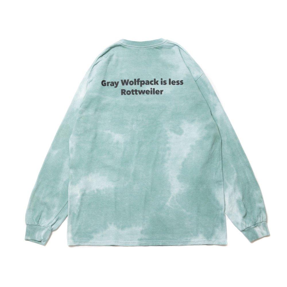 【SALE / 30%OFF】ROTTWEILER ロットワイラー / Tシャツ TIEDYE W.P LS TEE 【GREEN】