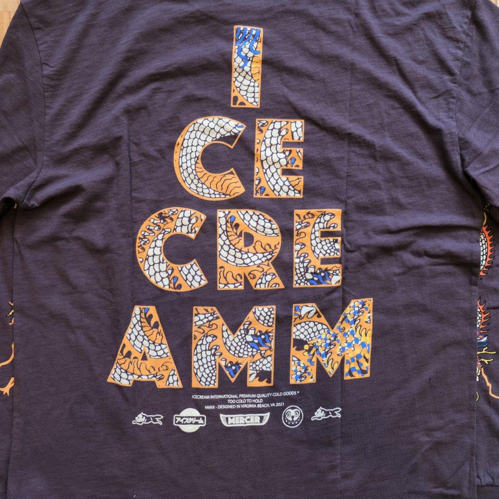 <img class='new_mark_img1' src='https://img.shop-pro.jp/img/new/icons3.gif' style='border:none;display:inline;margin:0px;padding:0px;width:auto;' />ICE CREAM アイスクリーム / ロングTシャツ PIERCE L/S T-SHIRT