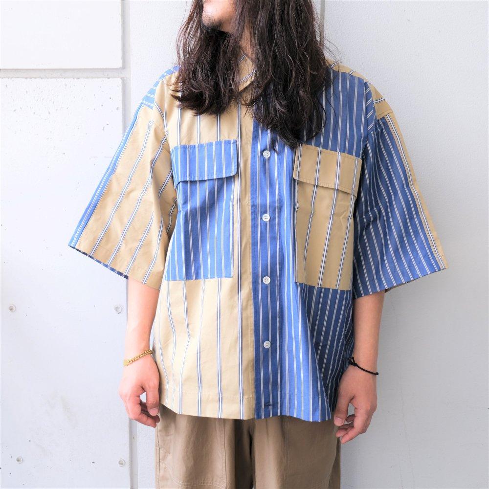 <img class='new_mark_img1' src='https://img.shop-pro.jp/img/new/icons3.gif' style='border:none;display:inline;margin:0px;padding:0px;width:auto;' />【Last One!】Black Weirdos  ブラック ウィドー / シャツ Crazy Big Pocket Shirt