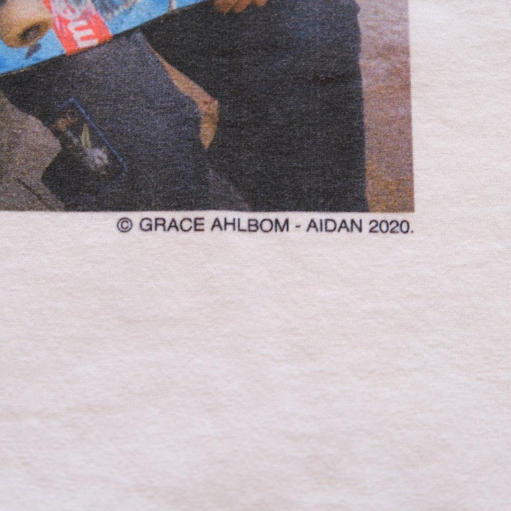 <img class='new_mark_img1' src='https://img.shop-pro.jp/img/new/icons3.gif' style='border:none;display:inline;margin:0px;padding:0px;width:auto;' />MINEDENIM  マインデニム /  Tシャツ /Stie-lo×Grace Ahlbom Photo T-SH AIDAN 【WHITE】