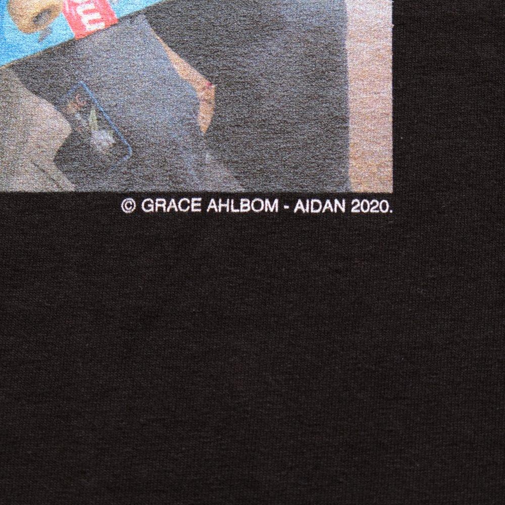 <img class='new_mark_img1' src='https://img.shop-pro.jp/img/new/icons3.gif' style='border:none;display:inline;margin:0px;padding:0px;width:auto;' />MINEDENIM  マインデニム /  Tシャツ /Stie-lo×Grace Ahlbom Photo T-SH AIDAN 【BLACK】