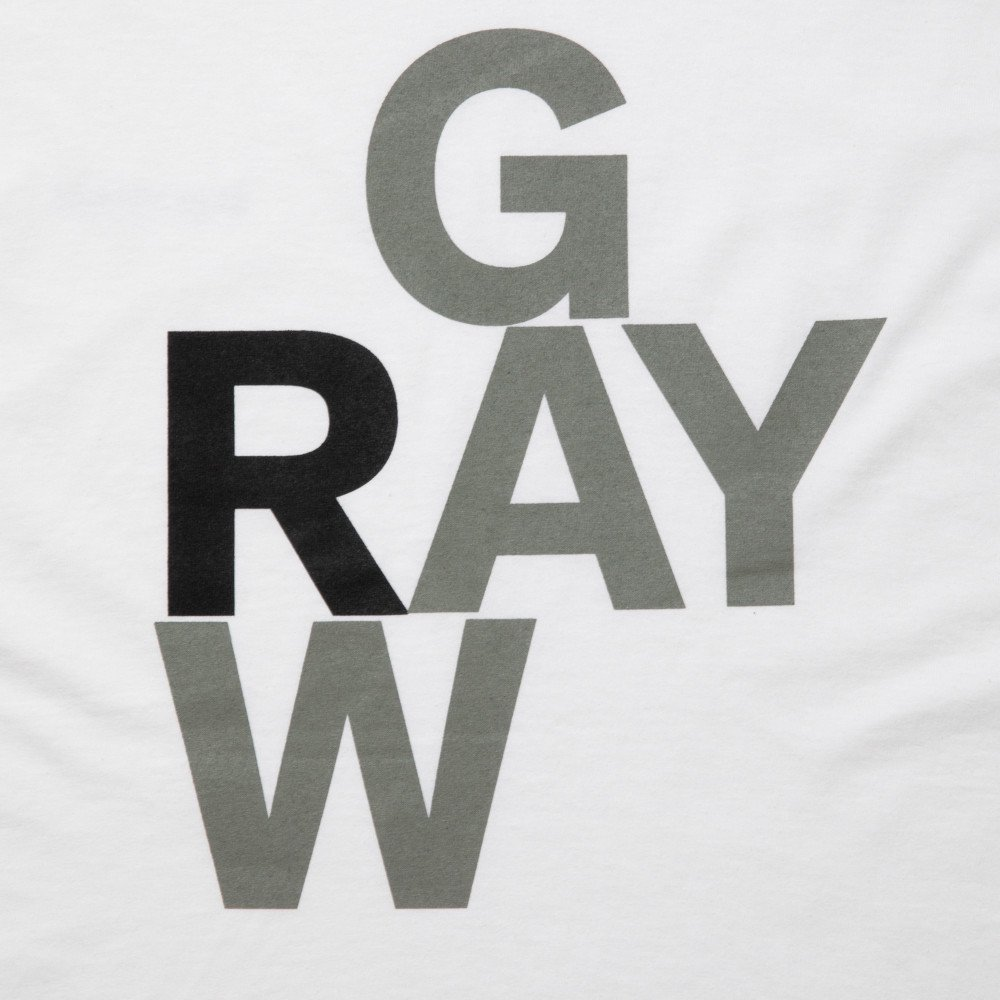 ROTTWEILER ロットワイラー / Tシャツ GRAY TEE 【WHITE】
