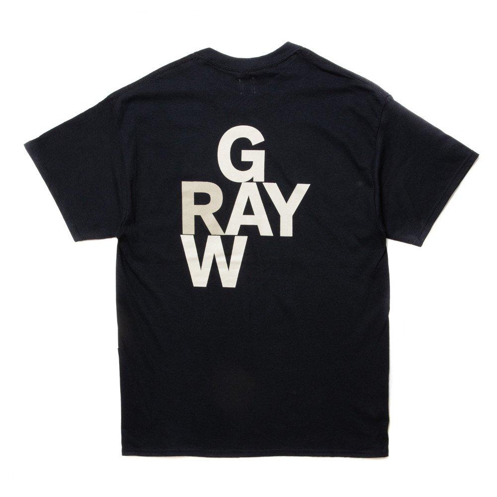 ROTTWEILER ロットワイラー / Tシャツ GRAY TEE 【BLACK】
