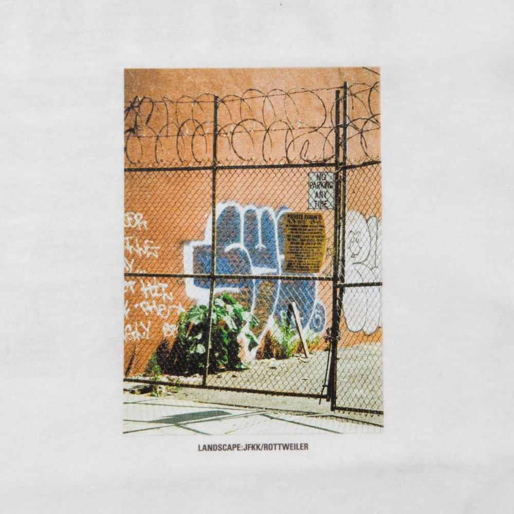 ROTTWEILER ロットワイラー / Tシャツ N.Y.C PHOTO TEE 【WHITE】
