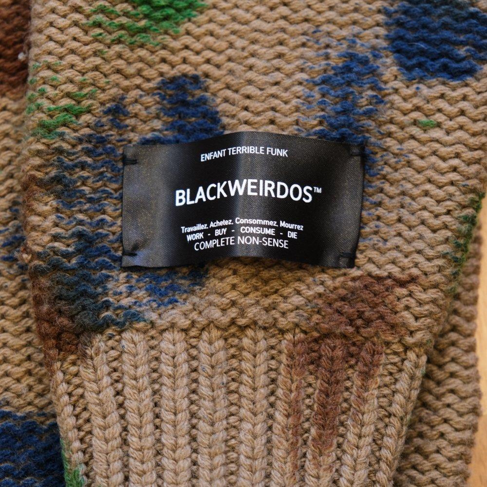 <img class='new_mark_img1' src='https://img.shop-pro.jp/img/new/icons3.gif' style='border:none;display:inline;margin:0px;padding:0px;width:auto;' />Black Weirdos ブラックウィドー / ニット TieDye Sweater