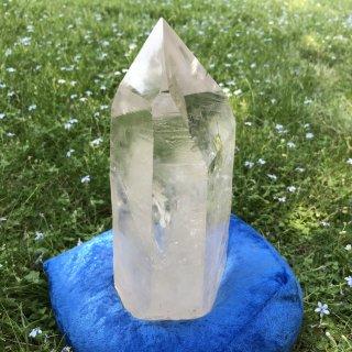 LS078a Crystaline Lemurian (Landscape, Pyramid)   1,937g 220mm