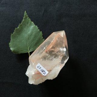 LS082a Crystaline Lemurian (Pink)   104g 70mm