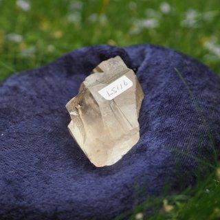 LS116  Lemurian Crystalina (Golden, Roots, Keys) 88g 65mm
