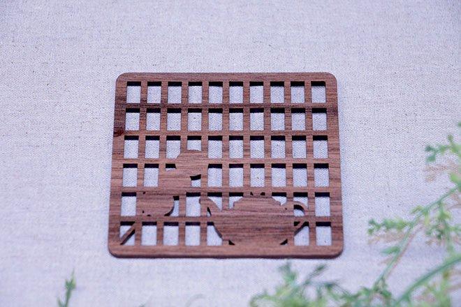 コースター障子と団子(SYOUJITODANGO)