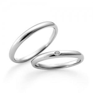 LAZARE DIAMOND 結婚指輪(2本セット)LG015PR/LG016PR RI