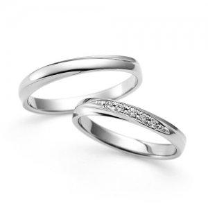 LAZARE DIAMOND 結婚指輪(2本セット)LG023PR/LG024PR RI