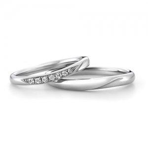 LAZARE DIAMOND 結婚指輪(2本セット)LD530PRL/LD530PRM RI