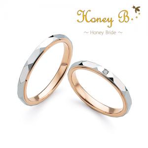 ハニーブライド 結婚指輪(2本セット)ラベンダー RF