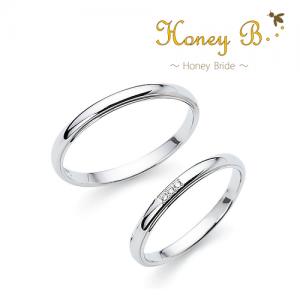 ハニーブライド 結婚指輪(2本セット)オレンジ RF