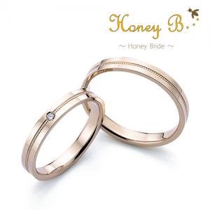 ハニーブライド 結婚指輪(2本セット)レモン RF