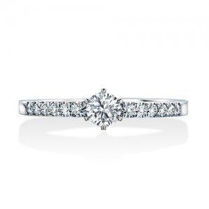 ロイヤルアッシャー 婚約指輪 JRA0201BP RF
