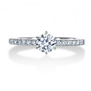 ロイヤルアッシャー 婚約指輪 ERA688 0.22 RF