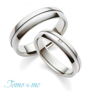 トモミ 結婚指輪(2本セット)みち RF