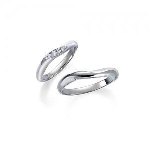 ロイヤルアッシャー 結婚指輪(2本セット)WRB013、WRA009 RF