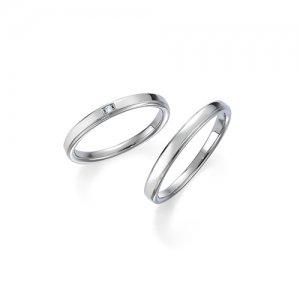 ロイヤルアッシャー 結婚指輪(2本セット)WRB043、WRA030 RF
