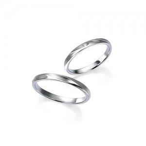 ロイヤルアッシャー 結婚指輪(2本セット)WRB048、WRA033 RF