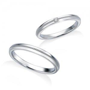 ロイヤルアッシャー 結婚指輪(2本セット)WRB073、 WRA064 RF