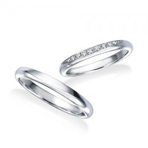 ロイヤルアッシャー 結婚指輪(2本セット)WRB075、WRA065 RF