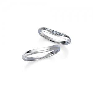 ロイヤルアッシャー 結婚指輪(2本セット)WRB038、WRA028 RF