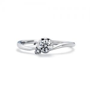 いい夫婦ブライダル 婚約指輪 IFE011-015 RF