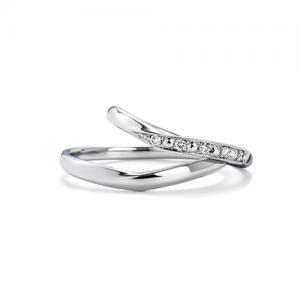 いい夫婦ブライダル 結婚指輪(2本セット)IFM108W、IFM008G RF