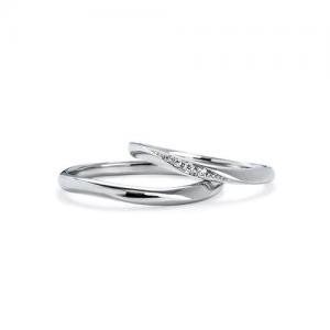 いい夫婦ブライダル 結婚指輪(2本セット)IFM115W、IFM015G RF