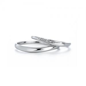 いい夫婦ブライダル 結婚指輪(2本セット)IFM116W、IFM016G RF