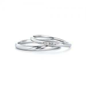 いい夫婦ブライダル 結婚指輪(2本セット)IFM119W、IFM019G RF