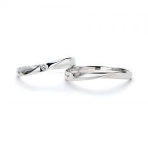 Twins Cupid(ツインズキューピッド)結婚指輪(2本セット)ラブノット RF