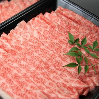 三代目厳選 常陸牛 極味 モモ(霜降:すき焼き) 600g